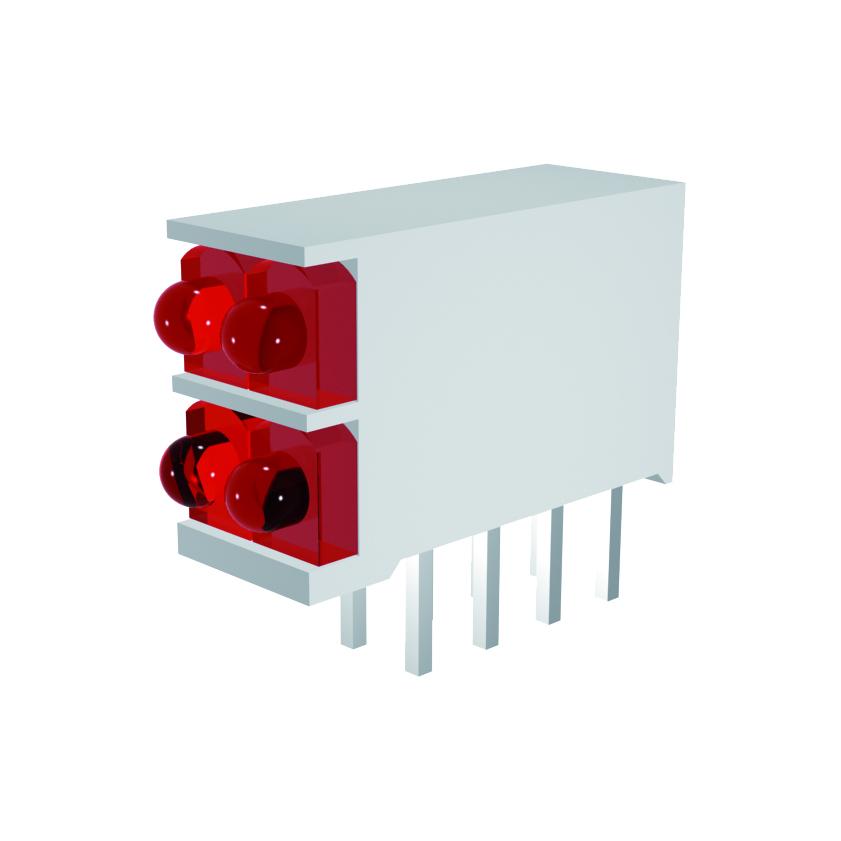 LED-Block 2-stellig Mini Line