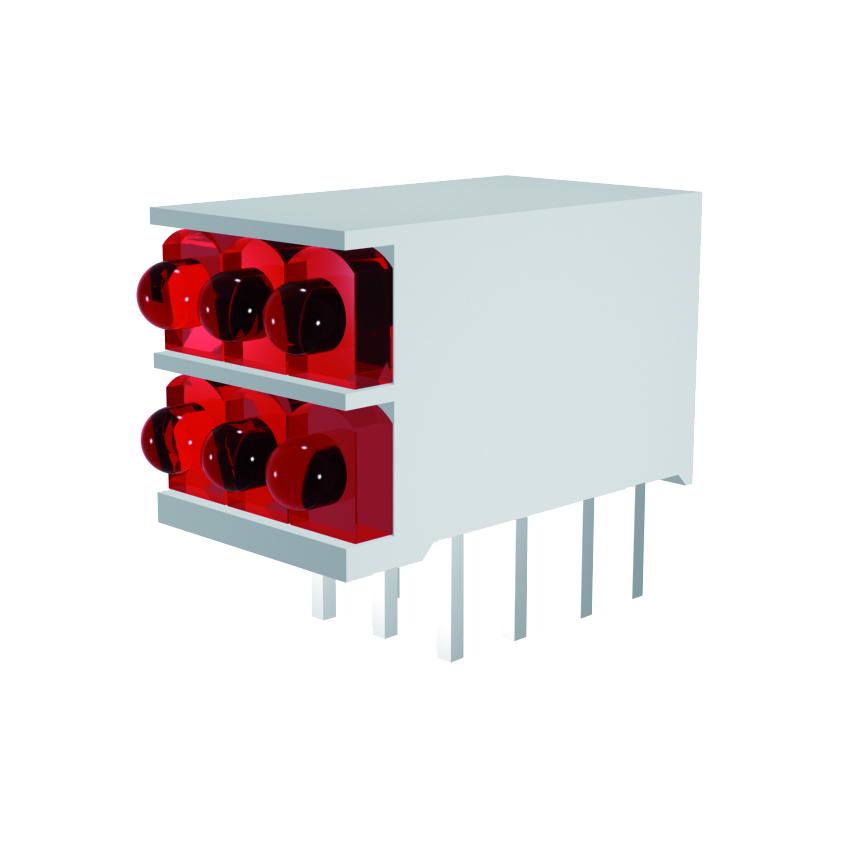 LED-Block 3-stellig Mini Line
