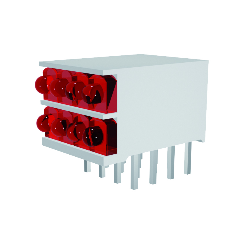 LED-Block 4-stellig Mini Line