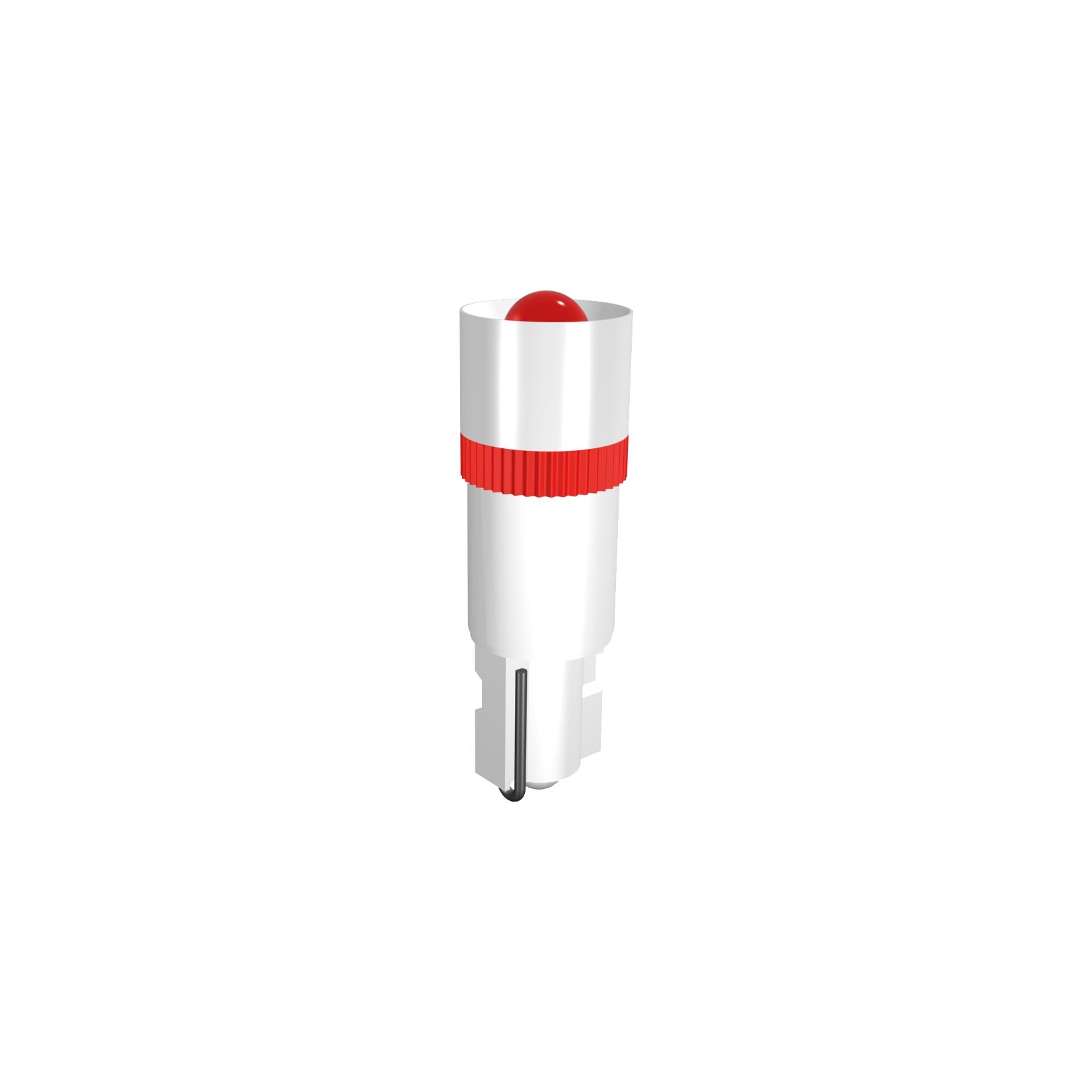 Single-LED Sockel W2x4,6 Einweggleichrichtung
