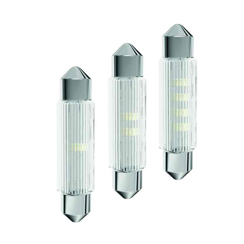 LED-Soffitten-Lampe Ø11x39mm