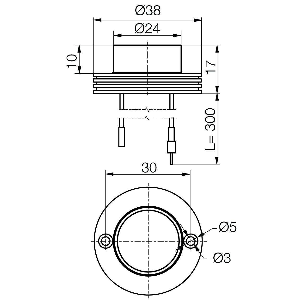 Power-LED-Modul MinoStar - plan