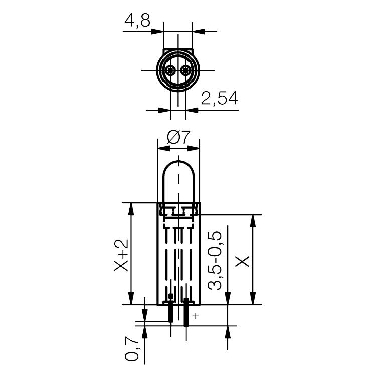 Distanzhalter DAH50 - plan
