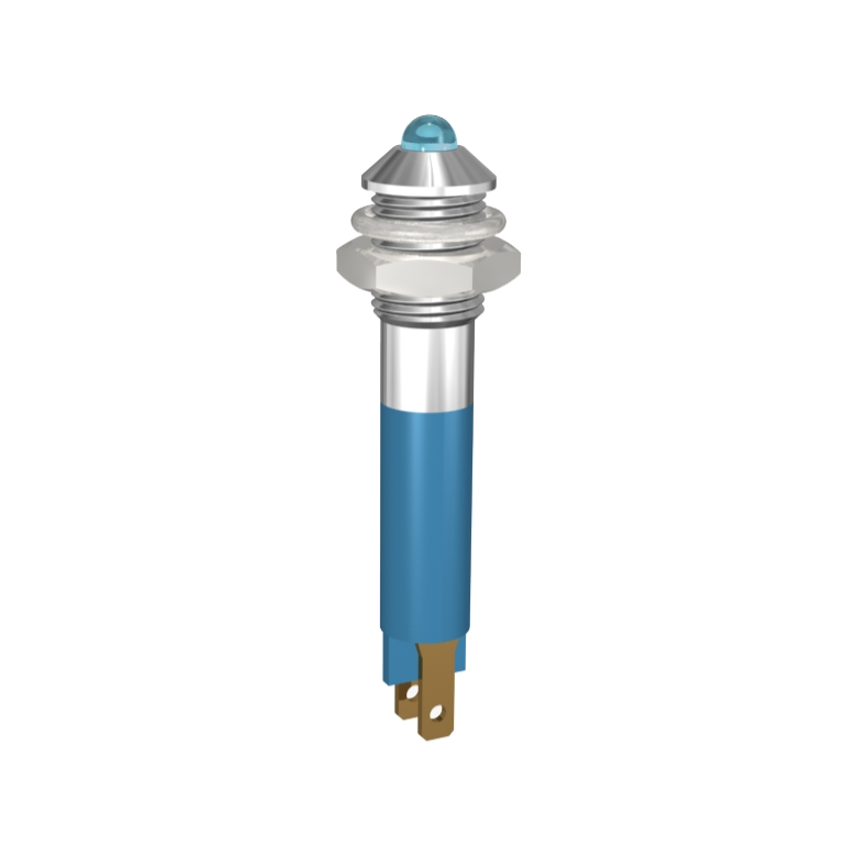 LED-Signalleuchte Ø6mm Aussenreflektor