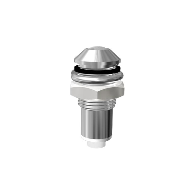 Metallgehäuse mit Lichtleiter Ø6mm Außenreflektor   IP67