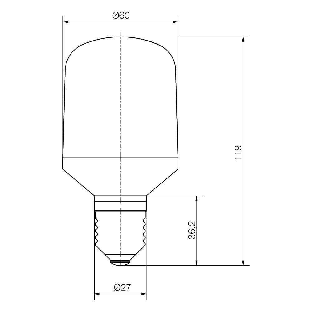 LED-Cluster Lampe SISTAR® IV - plan