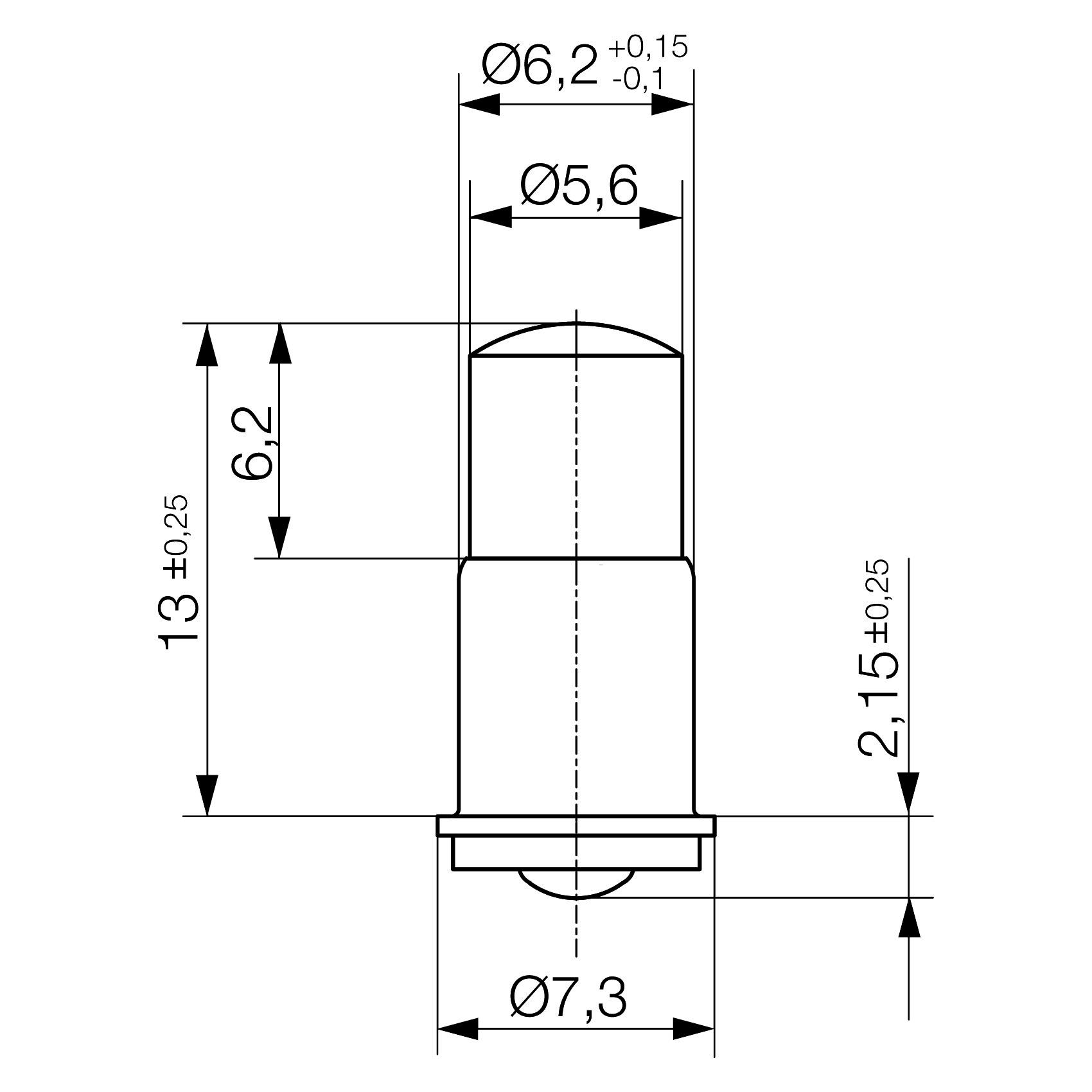 Multi-Look® LED lamp MF6s/8 - plan