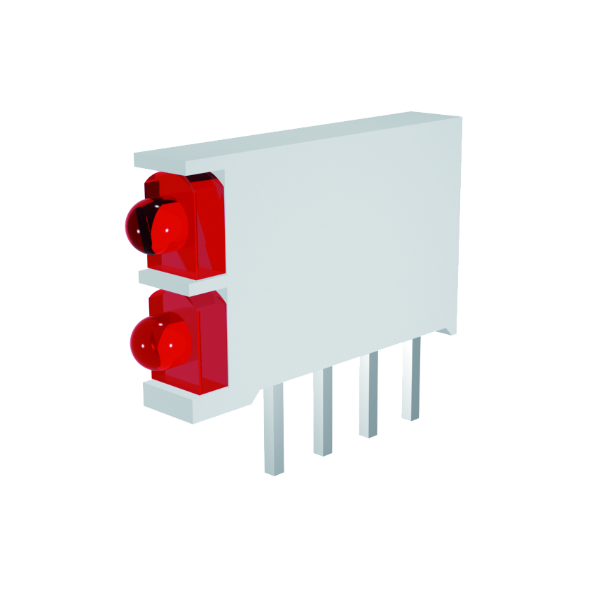LED-Block 1-stellig Mini Line