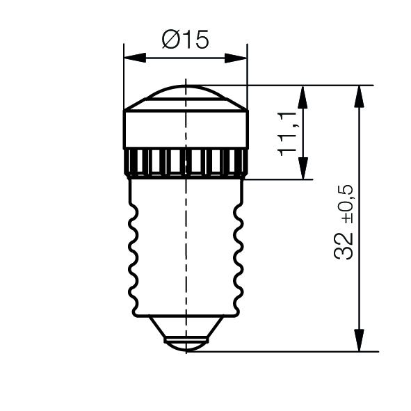 Multi-Look® LED Lampe PLUS Sockel E14 - plan