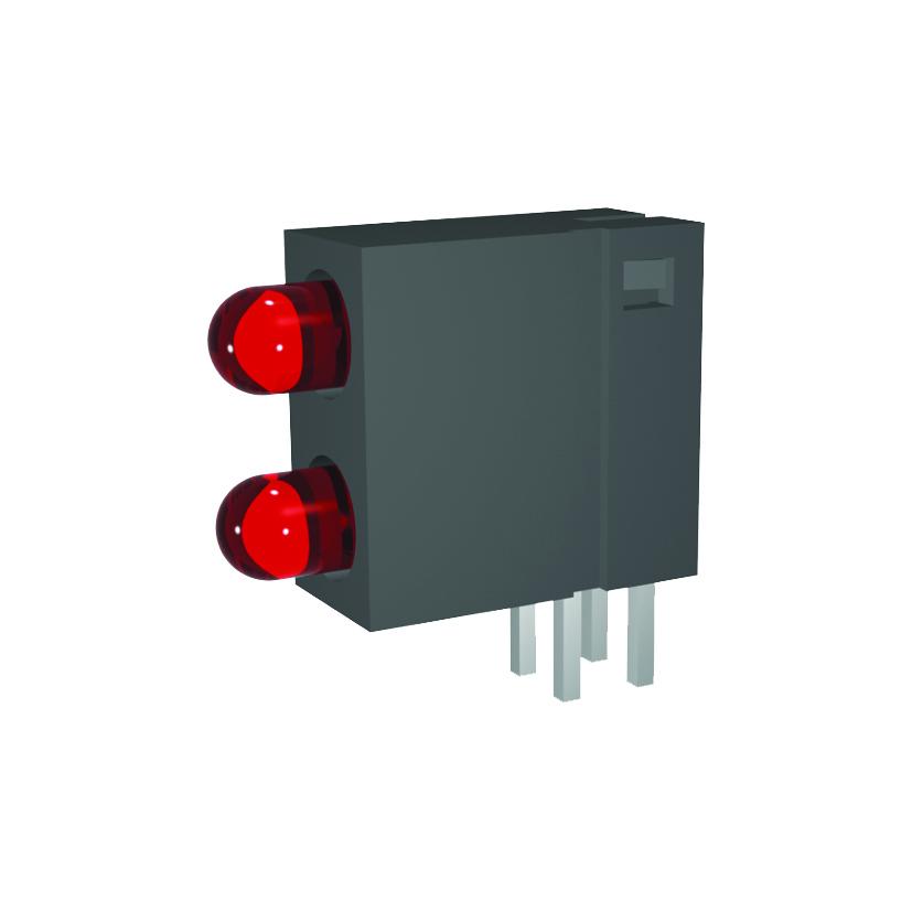 Leiterplattenanzeige mit 3 mm LED