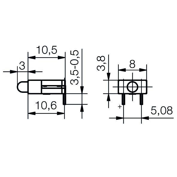 LED-Baustein Basis-Line - plan