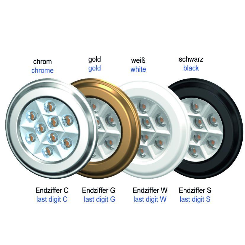 LED-Spot SiLuX Plus Mit Linsenoptik Einbau-Ø 52 - 58 mm
