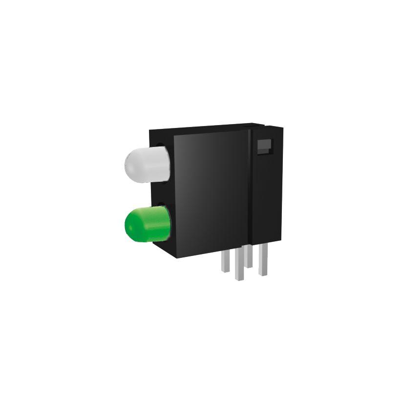 Leiterplattenanzeige mit 3mm LED