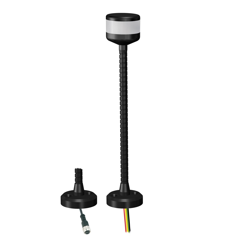 LED-Kompakt-Towerlampe mit Standfuß.