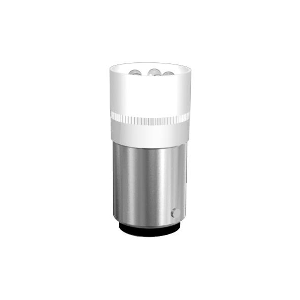 Cluster-Lampe Sockel BA15d 5 x 3mm-LED