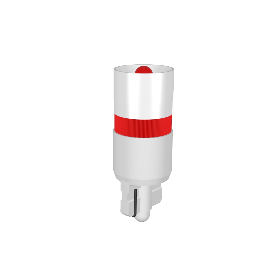 Single-LED Socket W2,1x9,5d one-way-rectifier