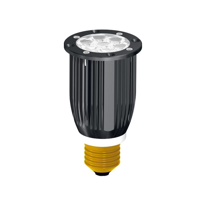 LED-Powerlampe Sockel E27