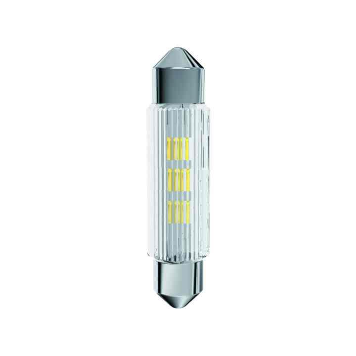 LED Soffitten-Lampe Ø11x39mm ultrahell