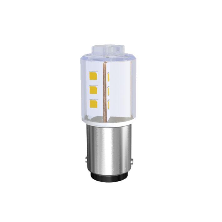 LED-Lampe Sistar® II Sockel BA15s 130V, 230V AC/DC