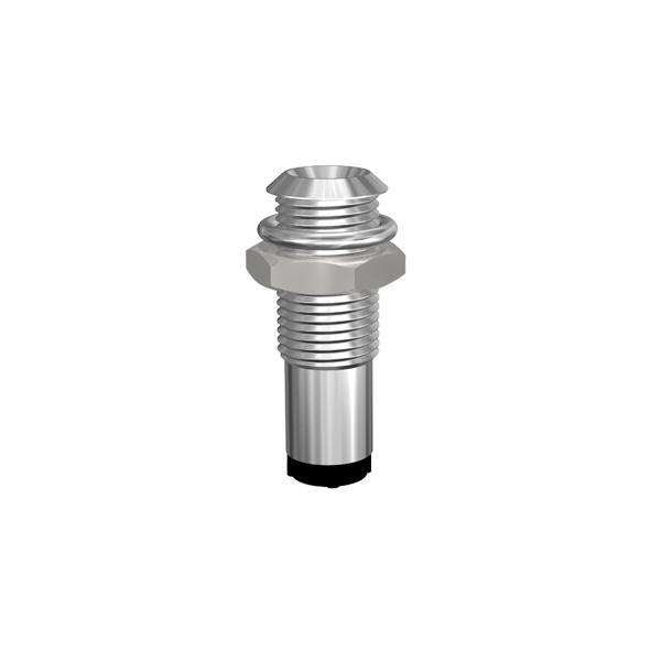 Leergehäuse für Ø3mm LEDs Innenreflektor, für Plankopf-LED