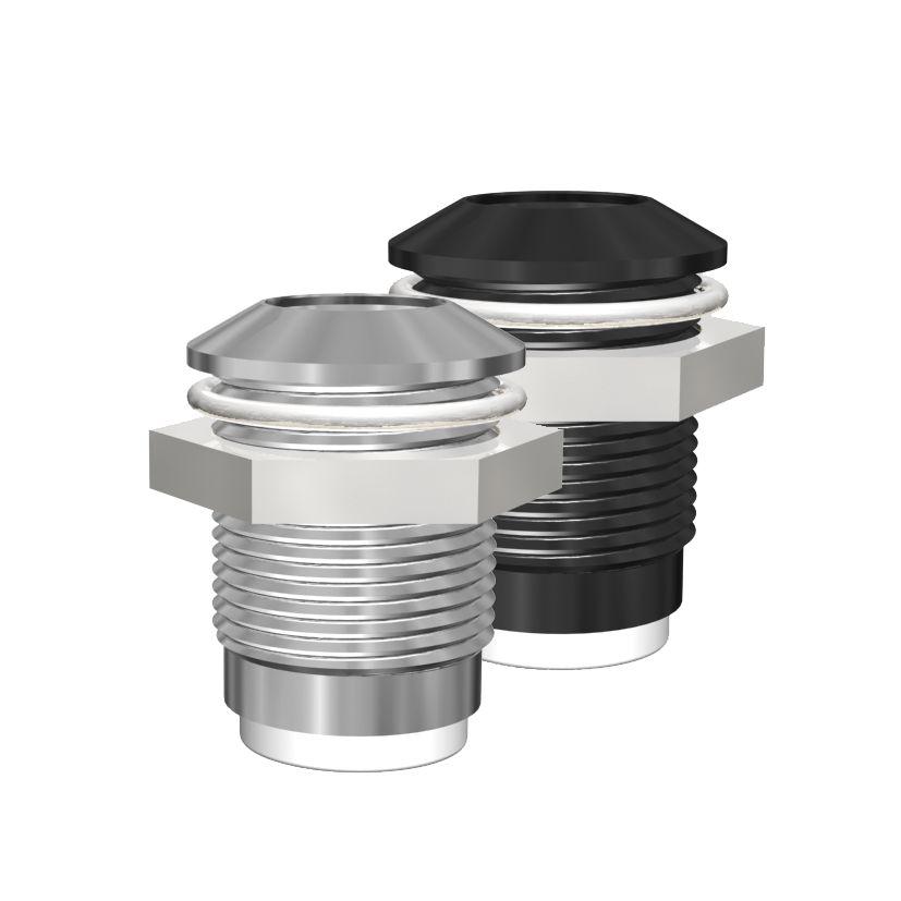 LED-Gehäuse für 8mm LEDs Außenreflektor