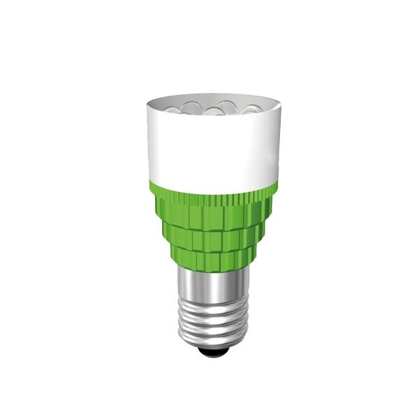 Cluster-Lampe Sockel E10 5 x 3mm-LED