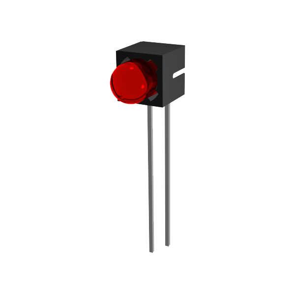 LED-Baustein mit 5 mm LED blinkend
