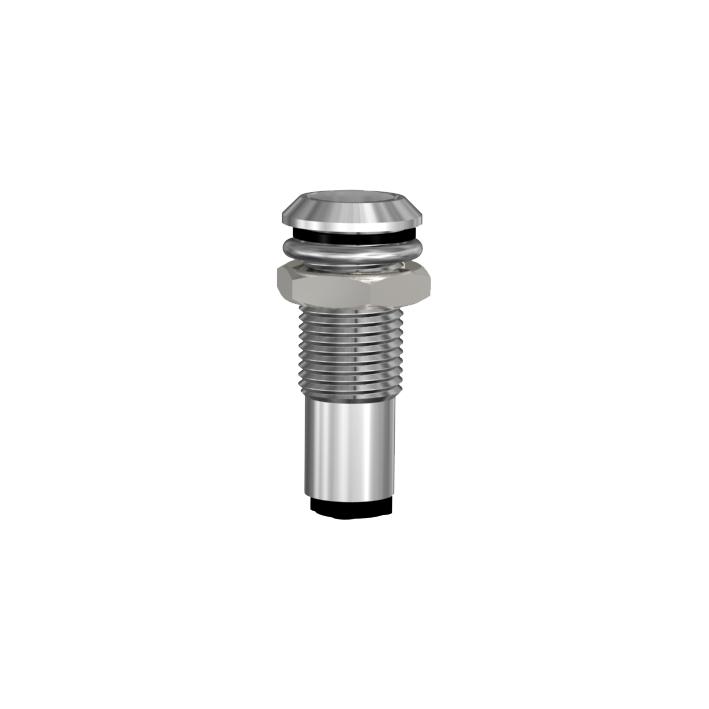 Leergehäuse für Ø3mm LEDs  IP67 mit optischer Linse