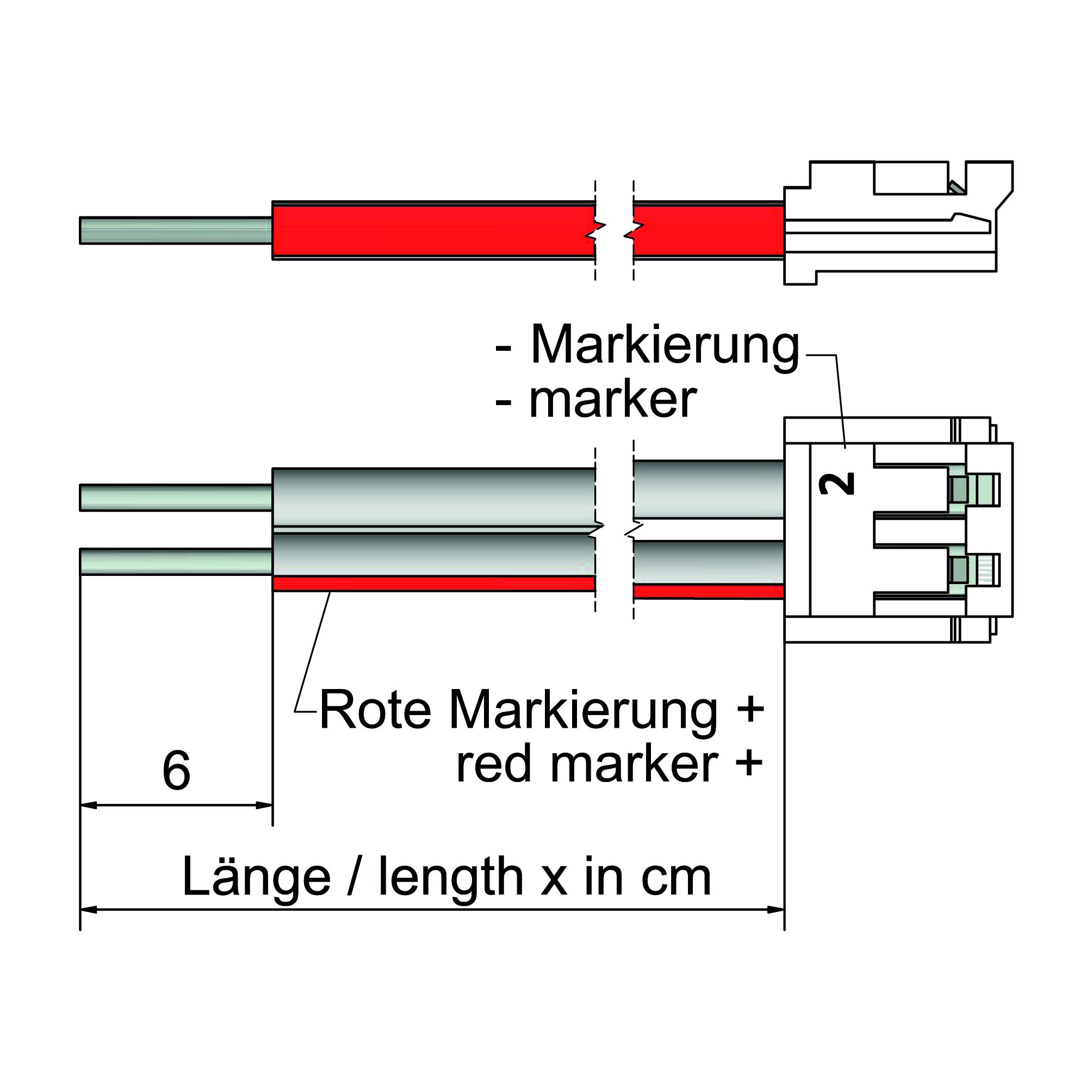 System-Anschlussleitung - plan