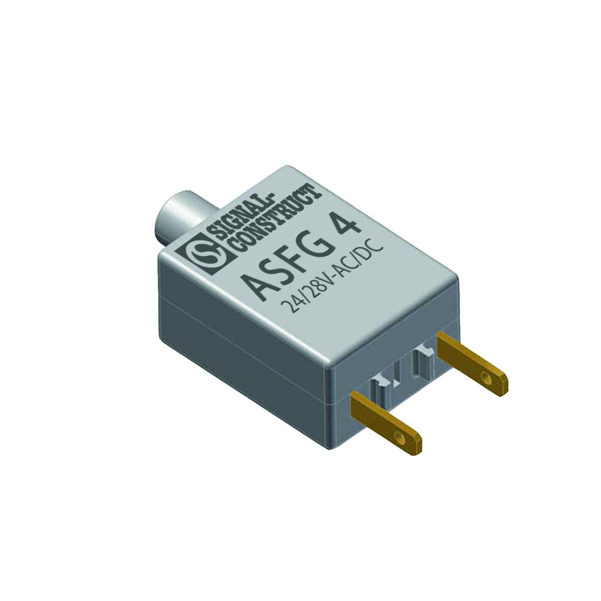 AS-Adapter für Leuchtelement Flachstecker-Anschluss Schwellspannung 15V
