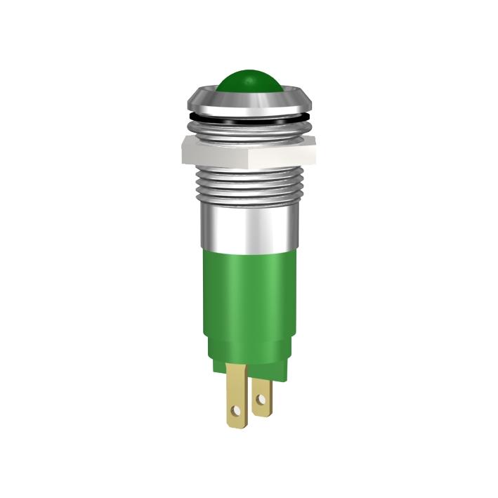 LED-Signalleuchte Ø14mm IP67 Innenreflektor