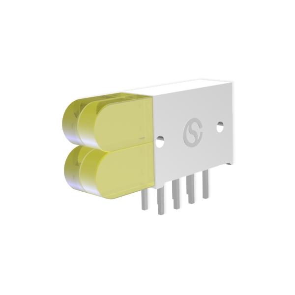 LED-Block mit Skalen-LED