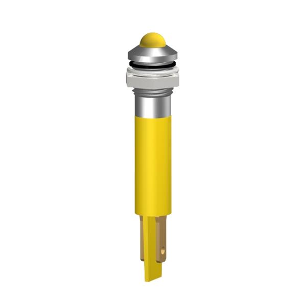 LED-Signalleuchte Ø8mm Außenreflektor