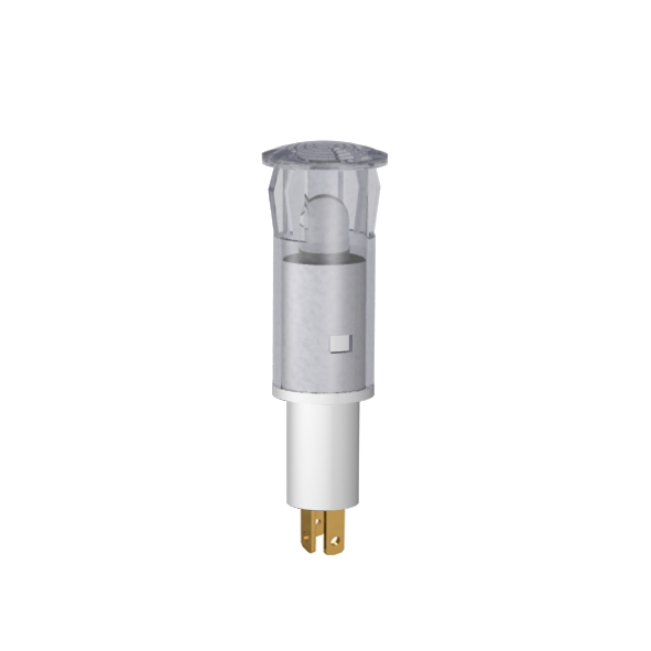 LED-Symbol-Leuchte Ø10mm Blendenkopf rund zweifarbig