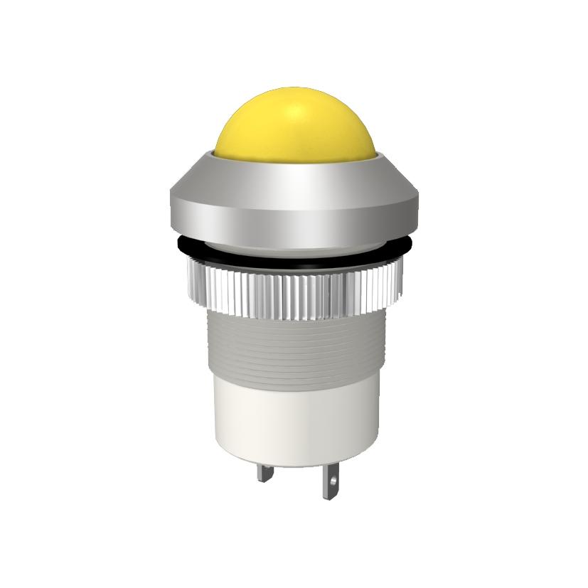 LED-Signalleuchte Ø22 mm IP67 Außenreflektor
