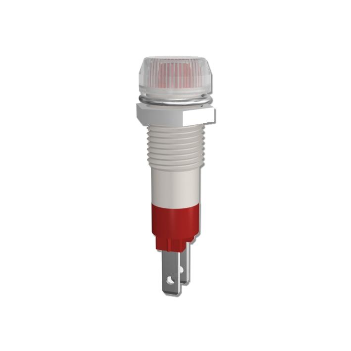 LED-Signalleuchte Ø8mm mit Blendenkopf